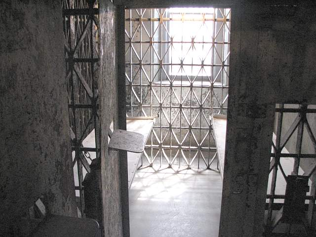 Allen County jail cell