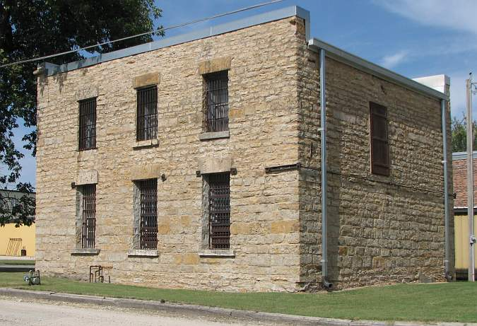 Old Jail Museum - Iola, Kansas