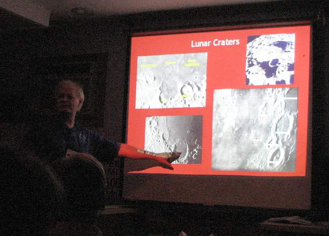 Walt Robinson and Lunar Craters