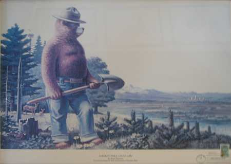 Smoky Bear by Rudolph Wendelin
