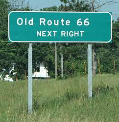 Old Route 66 - next right