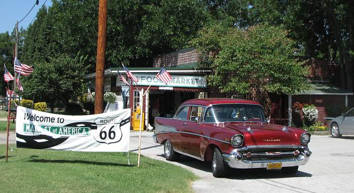 Eisler Brothers Old Riverton Store on Route 66
