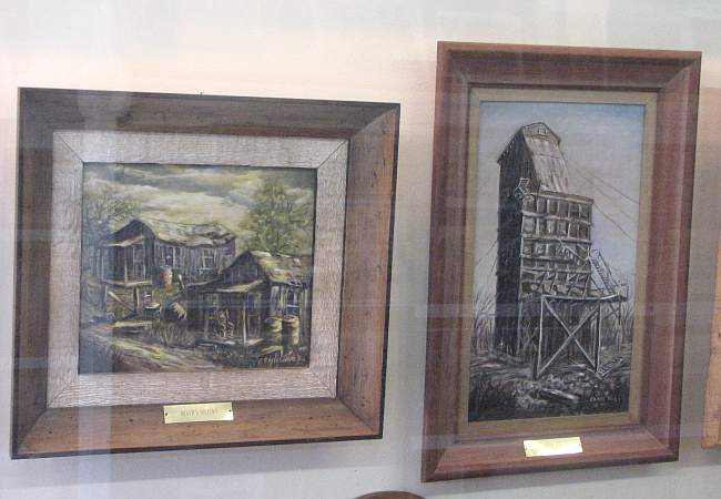 Tri-state Abandoned Mine Scenes paintings
