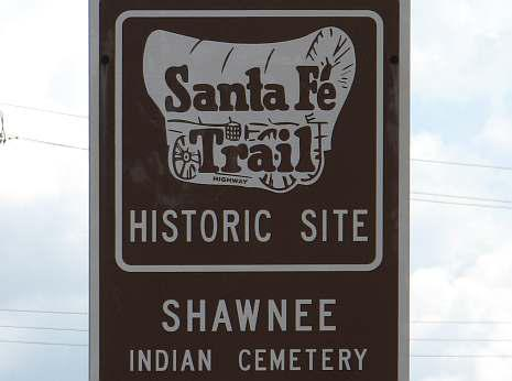 Shawnee Indian Cemetery - Santa Fe Trail Historic Site