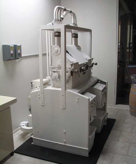 X-Mill, working miniature flour mill