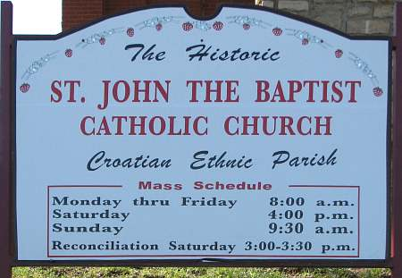 St. John the Baptist Catholic Church - Croatian Ethnic Parish