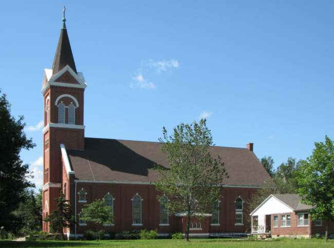 St Martin's Catholic Church - Piqua, Kansas