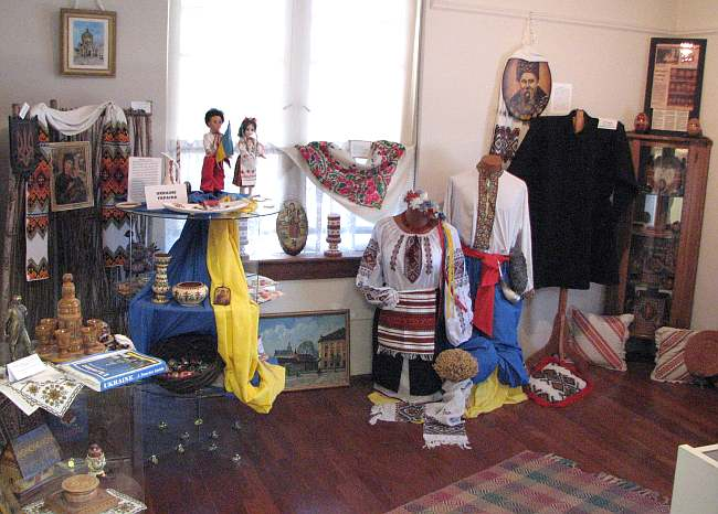 Ukraine heritage exhibits