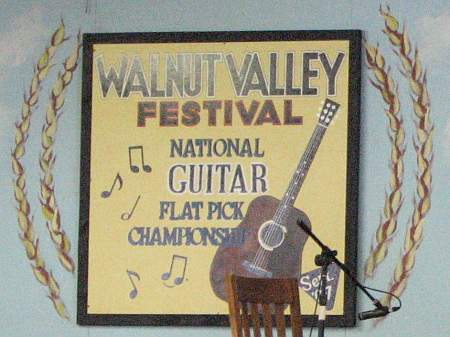 Walnut Valley Festival National and International Championships.