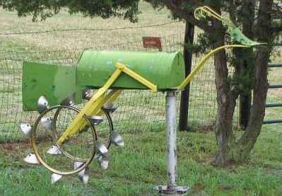 Harvey Walz metal sculpture - St. Francis, Kansas