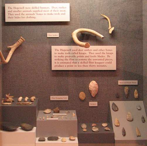 Hopewell indian artifacts
