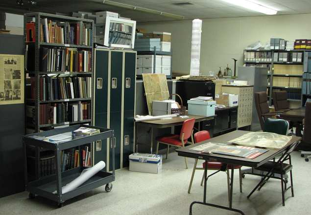 Trowbridge Research Library at the Wyandotte County Historical Museum