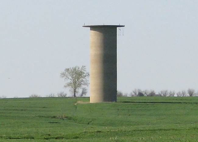 Concordia POW Camp water tower