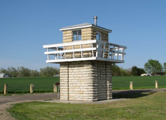 Reconstructed POW Guard House