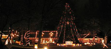 Candy Cane Lane - Prairie Village, Kansas