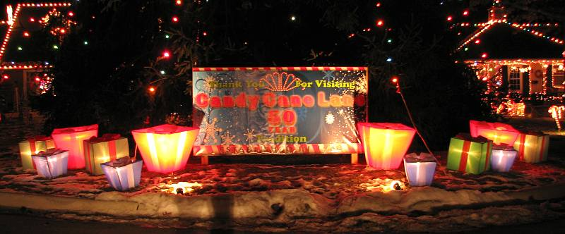 Thank you for visiting candy cane lane 50 year tradition
