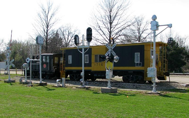 Carona depot railroad museum scammon kansas for Home depot wichita ks