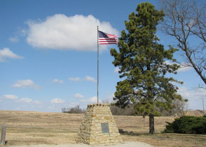 Geographical Center of the United States monument