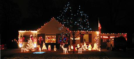 Lowell Avenue Christmas Display - Overland Park, Kansas