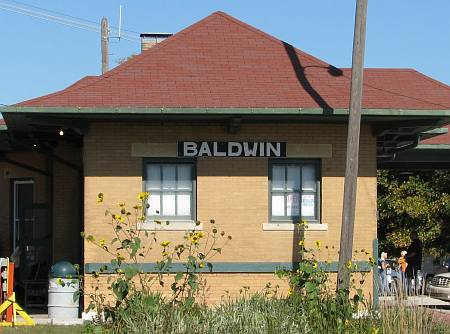 Midland Railway Depot - Baldwin City, Kansas