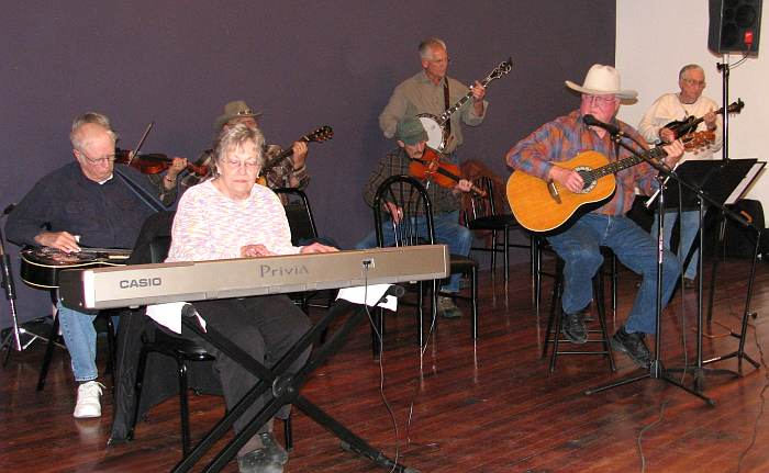 blue grass jam session
