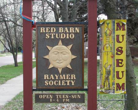 Red Barn Studio Museum - art of Lester Raymer
