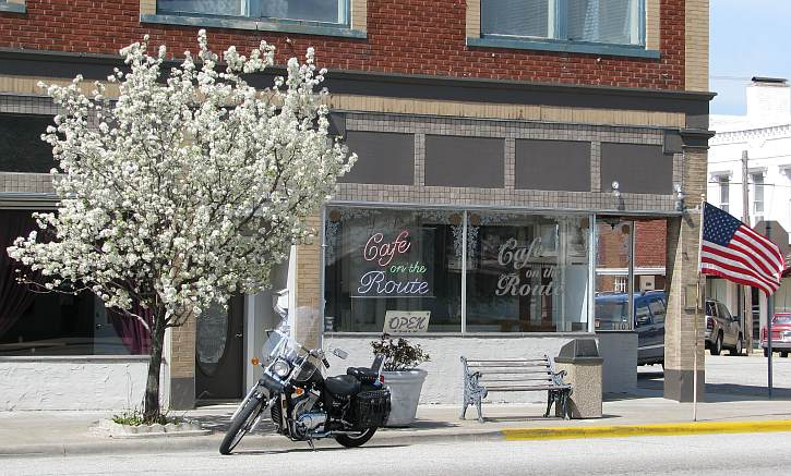 Cafe on the Route - Route 66, Baxter Springs, Kansas