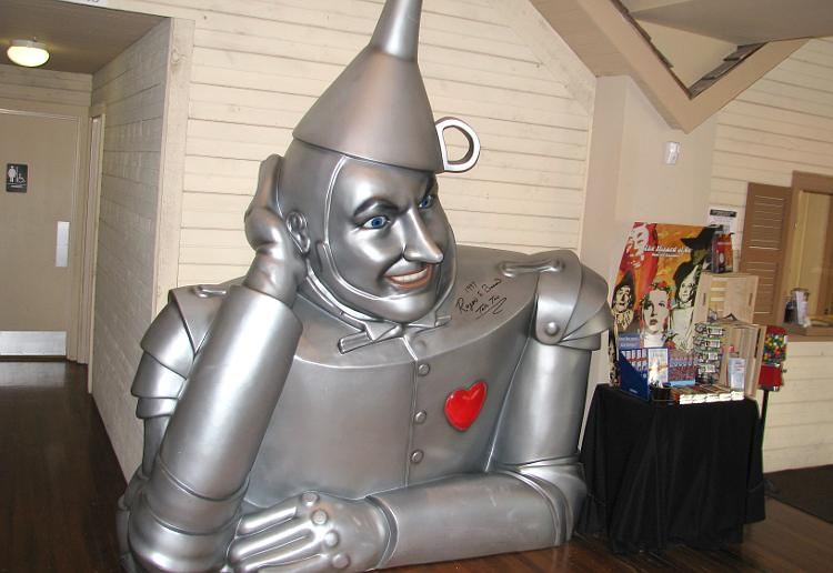 Tin Man at the OZ Museum.