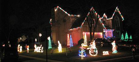 110th Terrace Christmas Display - Lenexa, Kansas