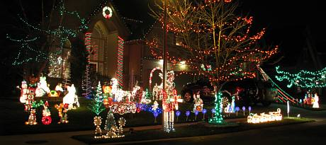 129th Terrace Christmas Display - Overland Park, Kansas