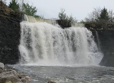 Elsmore, Kansas - Bourbon Lake Falls