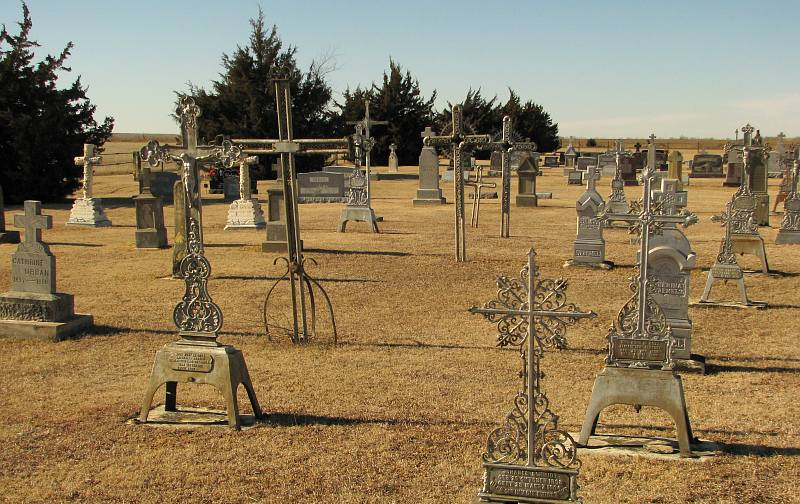 Holy Cross Cemetery - Pfeifer, Kansas