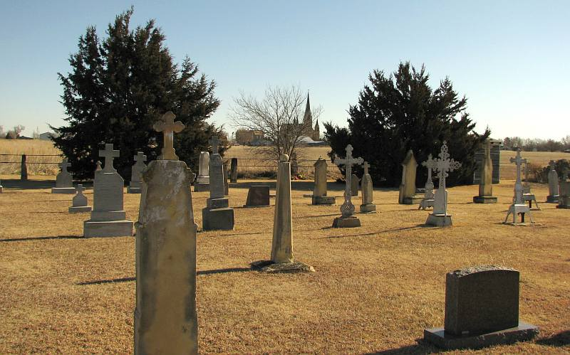 Holy Cross Cemetery and Church