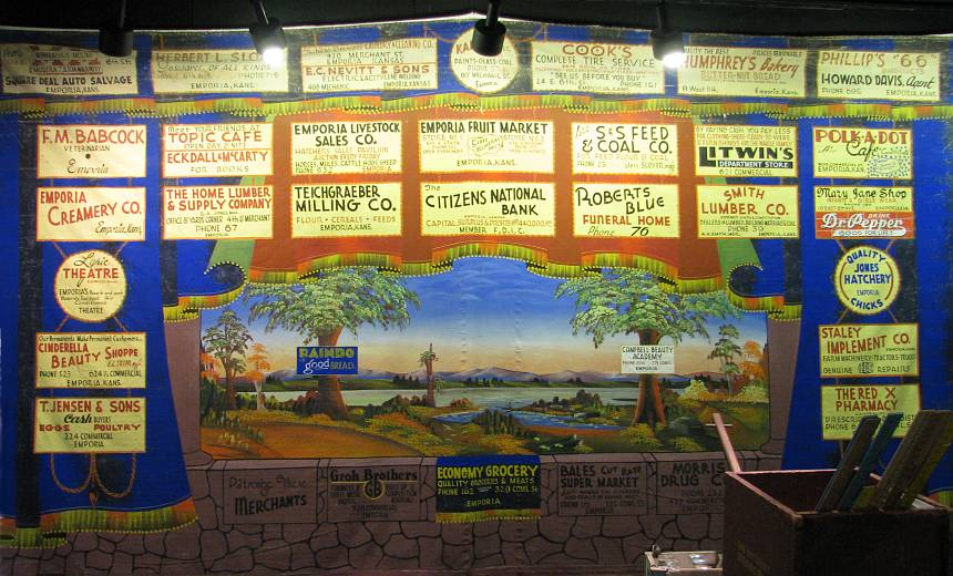 Valley Star School stage curtain