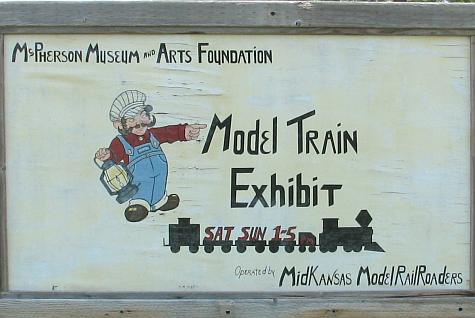 Mid-Kansas Model Railroad Exhibit - McPherson Museum