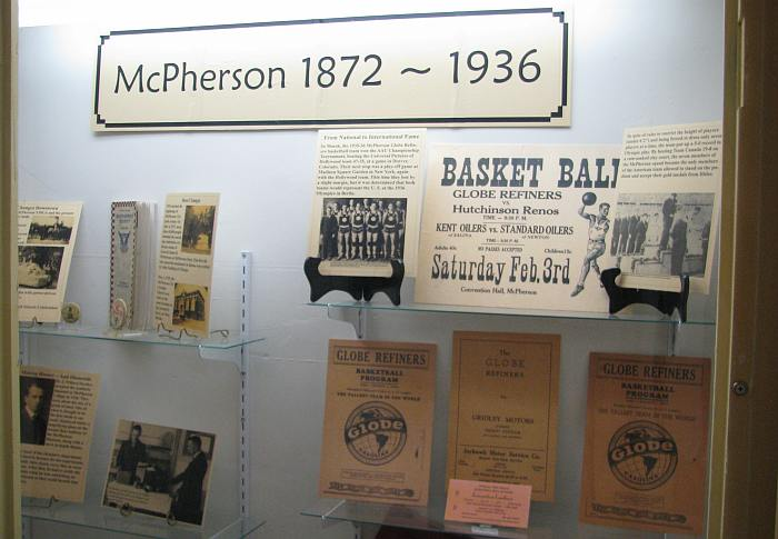 McPherson Globe Refiners Basketball Team  - Olympic champions