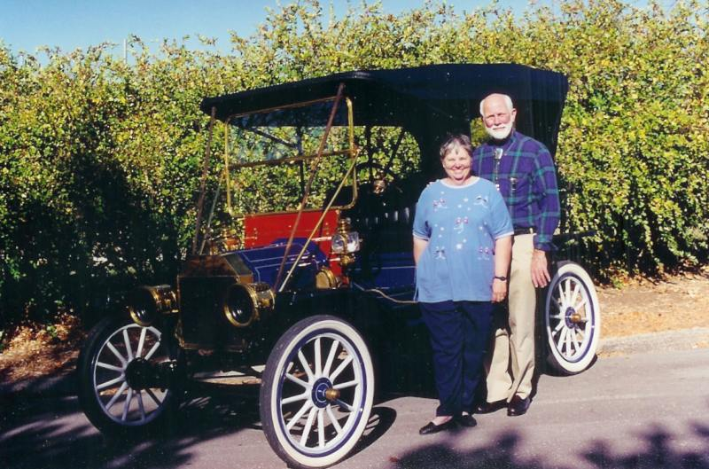 Gary and Carol Hylton and Model T