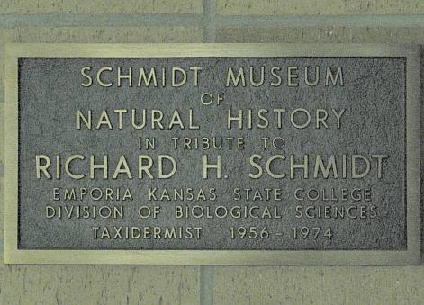Richard H. Schmidt Museum of Natural History - Emporia State University