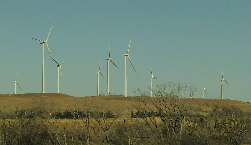 Smoky HIlls WInd Farm - Ellsworth County and Lincoln County