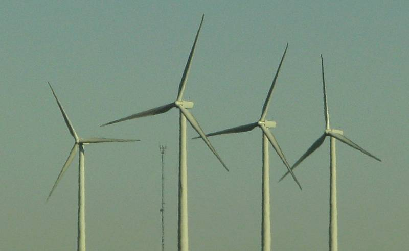 Wind Turbines at Smoky Hill Wind Farm in central Kansas