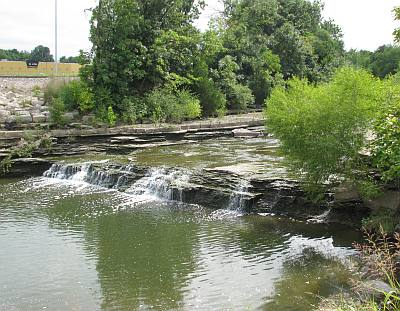 Turkey Creek Waterfall Park - Merriam, Kansas