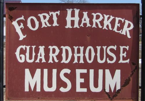 Fort Harker Guardhouse Museum - Kanopolis, Kansas