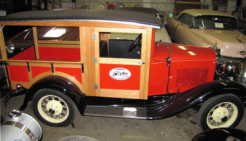 1930 canopy top Ford pickup - Dean Weller