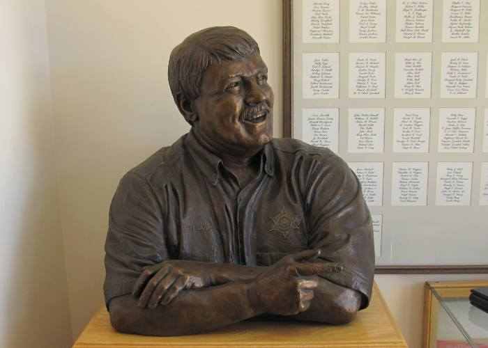 Jim Brothers' Bronze Sculpture