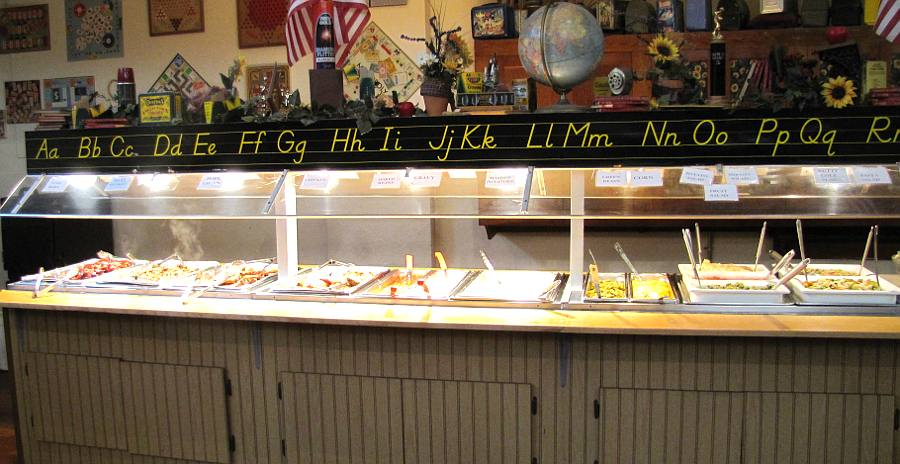 Hickory Tree Restaurant buffet