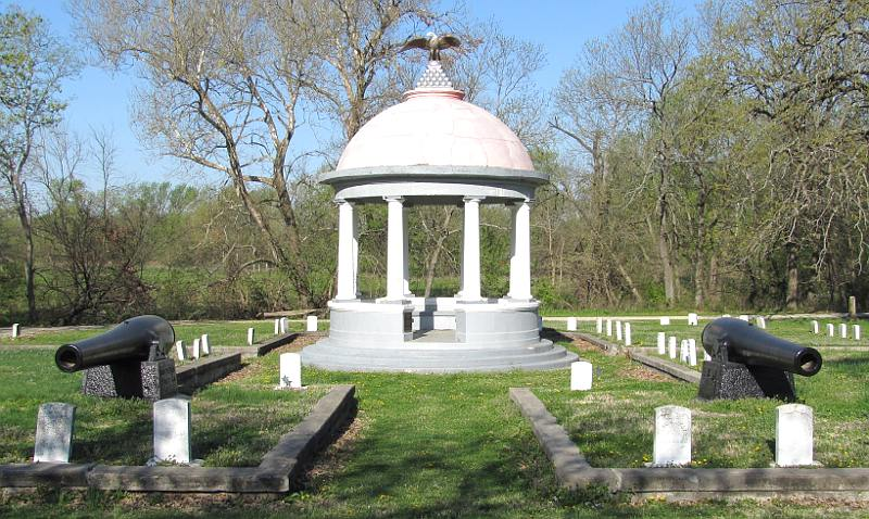 Civil War rotunda - Parsons, Kansas