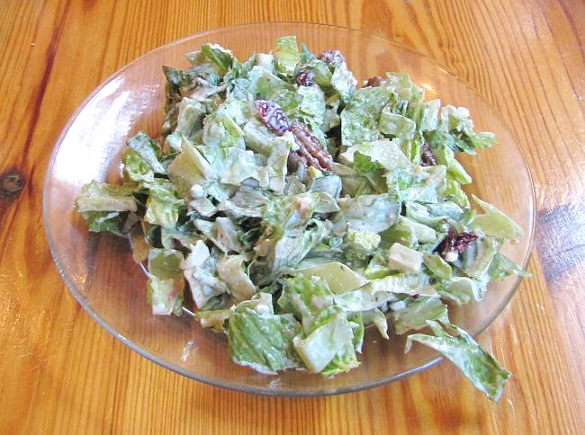 Gorgonzola salad at the Renaissance Cafe