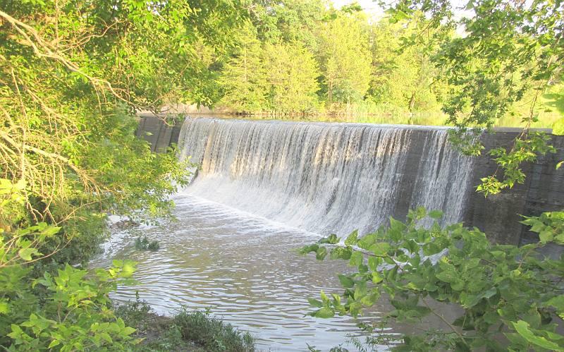 Santa fe lake falls edgerton kansas for Santa fe dam fishing