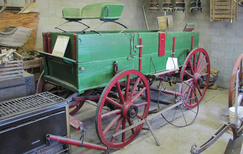 early John Deere wagon