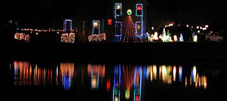 158th Terrace Christmas display - Overland Park, Kansas
